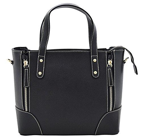 ADA Henkeltaschen Handtasche Italienische Tasche Echtes Leder Made in Italy