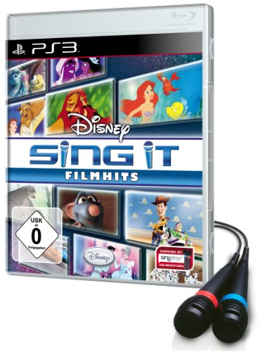 Disney Sing it: Filmhits - Bundle inkl. 2 Mikrofone (Disney-karaoke-playstation 3)