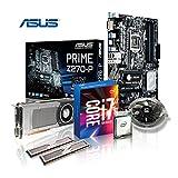 Memory Aufrüst-Kit Intel Core i7-7700K 7. Generation (Quadcore) Kabylake 4x 4.2 GHz, 32 GB DDR4 2133Mhz, ASUS PRIME Z270-P, 6144MB Nvidia Geforce GTX 1060, USB 3.0, SATA3, 7.1 Sound, M.2 Sockel, GigabitLan, HDMI, MultimediaKIT, Kaby Lake, komplett fertig montiert und getestet