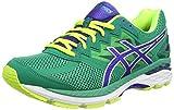 ASICS - Gt-2000 4, Zapatillas de Running Hombre, Verde (Pine/asics Blue/Flash Yellow 8843), 44 EU