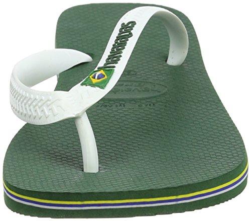 Havaianas Brasil Logo, Infradito Unisex – Adulto Multicolore (Amazonia 2619)