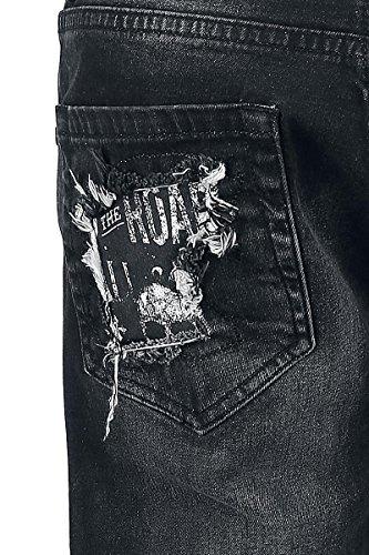 Rock Rebel by EMP Never Surrender Pete (Straight Fit) Hose schwarz Schwarz