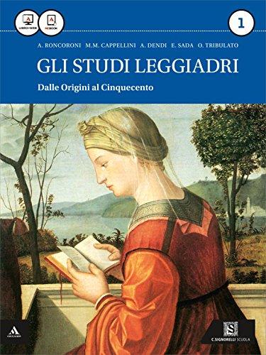 Gli studi leggiadri. Per i Licei. Con e-book. Con espansione online: 1