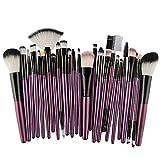 DaySing Brosse Pinceaux Maquillage,25Pcs Maquillage CosméTique Pinceau Fard à Joues Fard à PaupièRes Kit Set Poils Synthetiques Doux Et sans Cruauté