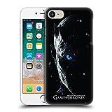 Head Case Designs Offizielle HBO Game of Thrones Night King Werbemotiven Staffel 7 Ruckseite Hülle für Apple iPhone 7 / iPhone 8