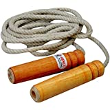 Henco Cotton Stamina Jumping Skipping Rope, Jumping Trainer,Adjustable Size