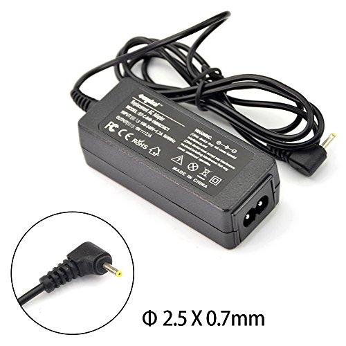 Sunydeal Notebook Netzteil AC Adapter Ladegerät für Asus Eee-PC 1015P 1015PD 1015PE 1015PEM 1015PN 1015PW 1016P 1025C 1025CE 1101HA 1101HGO 1201HA 1201HAB 1201HAG 1201K 1201N 1201NL 1201PN 1201T 1215B 1215N 1215P 1215T R011PX R051PX X101 (Eee Pc 1025ce)