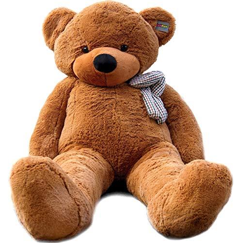 Joyfay marca Grande Orsacchiotto 200cm 78' orso di peluche gigante marrone Giocattoli di pezza morbido E tenero per Adulto Bambina peluche giganti orso peluche gigante orso gigante