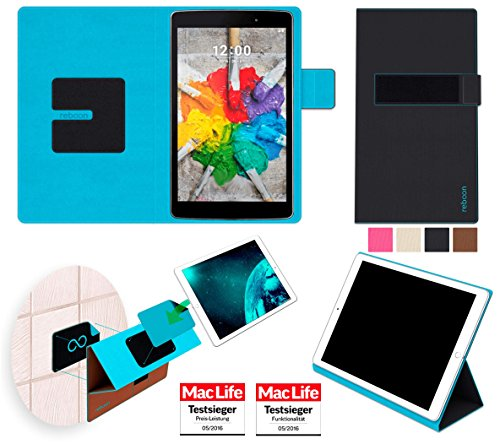 reboon LG G Pad 3 8.0 FHD Hülle Tasche Cover Case Bumper | in Schwarz | Testsieger