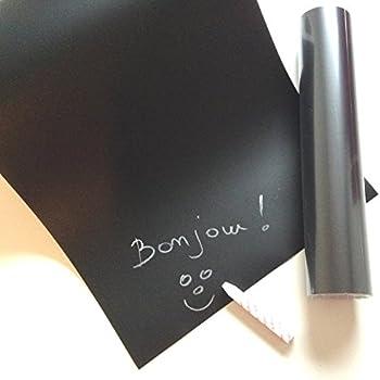 Rouleau de film ardoise (sticker tableau noir pour écrire à la craie). Compatible avec la Cameo Silhouette et d'autres machines de découpe.