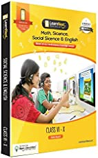 LearnNext CBSE Class 10 Maths, Science, Social Science & English DVD