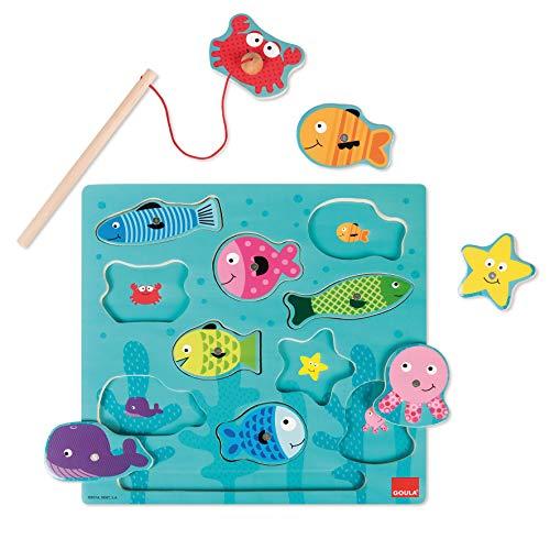 Goula Puzzle pesca magneticos niños 2 años