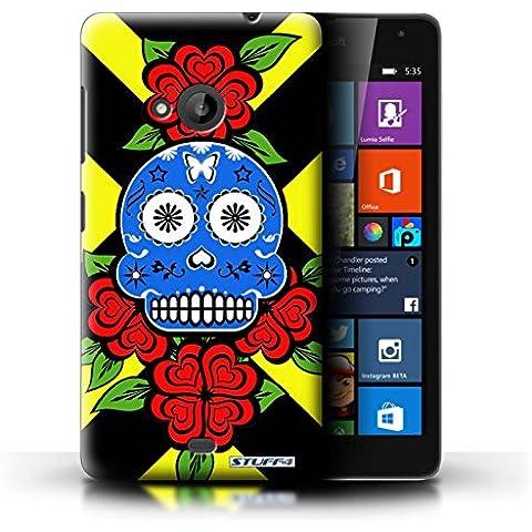 STUFF4 Phone case // Skin/portada NOKLUM535/caramelo de calavera cala Vera collection Blaue/Rose