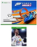 Xbox One S 500GB Konsole - Forza Horizon 3 Hot Wheels Bundle + FIFA 18