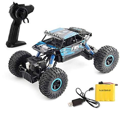 Rc De Dobles Todoterreno Escalada Bigfoot 4x4 Control Coche Modelo Coches Motores Vehículo Footprintes Remoto Juguete qMVpSUzG