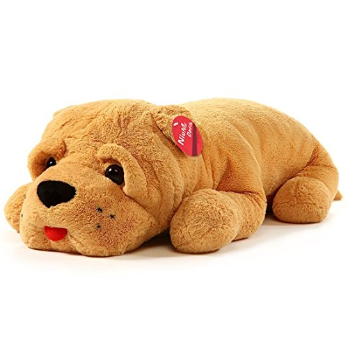 Niuniu Daddy 90cm Oscar Plush Puppy Dog Soft Toy, Large Stuffed Animal