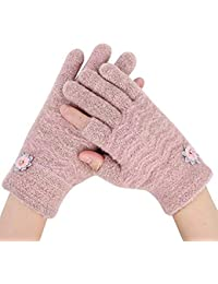 470d4bfadca345 Dicke Handschuhe touchscreen Smartphone iphone ipad Wollhandschuhe Strick  Baumwolle Frauenhandschuhe Winter Herbst Winterhandschuhe wolle warm weich