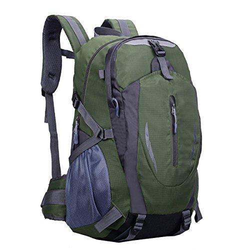 Yy.f40L Outdoor Wild Pferd Tasche Militär Rucksack Reisen Reitrucksack. Backpacker Reisende Senior Reisende. Mehrfarbig Blue