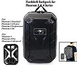 Rucksack for DJI Phantom 3 Koffer Backpack Bag Waterproof Travel Shoulder Bag Hardshell Turtle Shell for Phantom 4 Drone zubehör Accessoriesby Black by Crazepony-UK