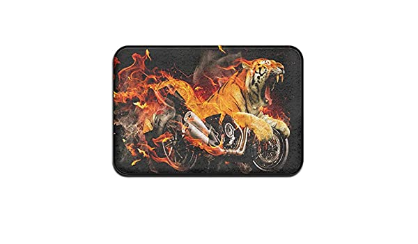 COBAG Ducati Diavel Tiger Fire Fantasy Doormats / Entrance Rug Floor Mats:  Amazon.co.uk: Kitchen U0026 Home