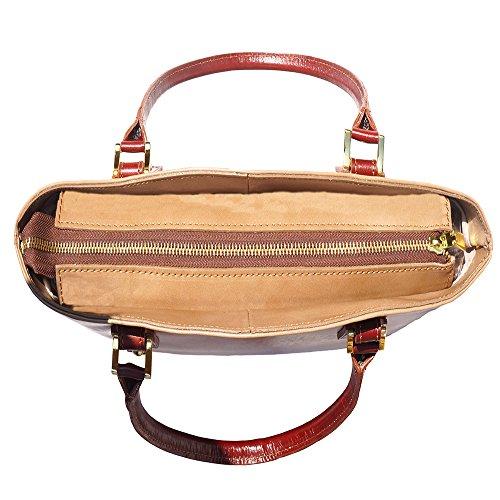 Handtasche Tote 204 Taupe-Braun