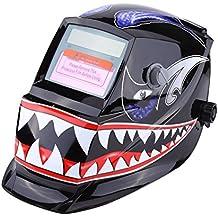 Casco de Soldadura Máscara de Soldar de Oscurecimiento Automático Máscara con Rango de Sombra Ajustable para