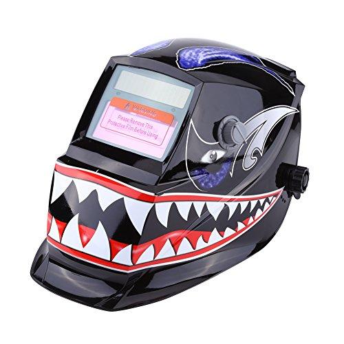 Casco de Soldadura Máscara de Soldar de Oscurecimiento Automático Máscara con Rango de Sombra Ajustable para Soldar # 9 ~ # 13