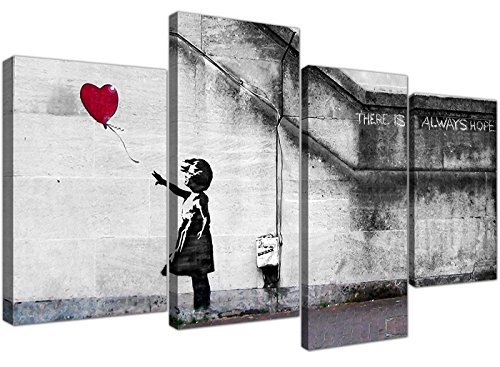 Wallfillers Extra Grande Banksy Lienzo (130...