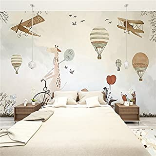 Große 3D Stereo Tapete Wandbild Kind Fantasy Imagine Schlafzimmer TV Hintergrund Wand, XXL(13'6
