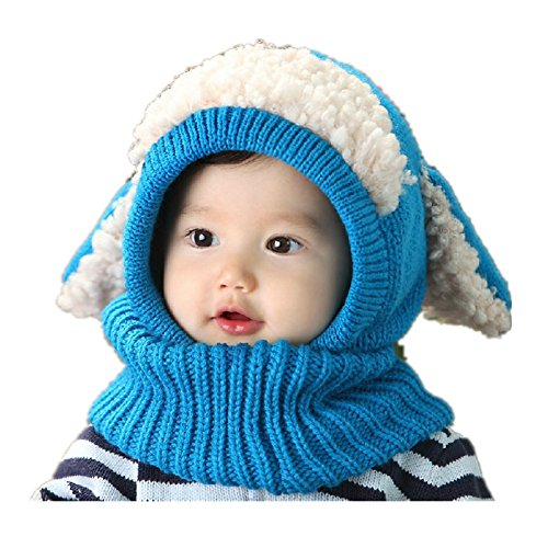 Pormow Herbst und Winter Baby Hut Kleinkind Mädchen Jungen Stricken Warme Woll Mütze
