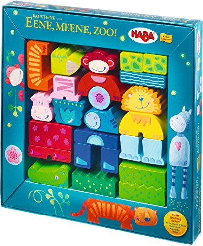 Haba 2334 - Bausteine Ene, mene, Zoo! - 2