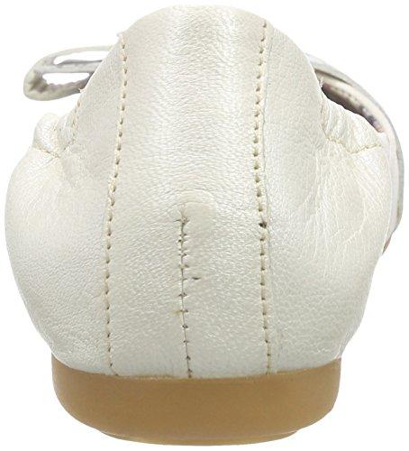 Mjus 670820, Ballerines fermées femme Blanc - Weiß (Bianco)