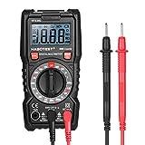 KKmoon Digital Multimeter 2000 Counts Portable Multi Meter Voltmeter Ammeter Ohmmeter Measuring AC/DC Voltage DC Current Resistance Continuity Test Diode Tester