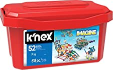 K'NEX Imagine 52 Model Building Set for Ages 7+, Engineering Education Toy, 618 Pieces