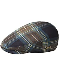 Kangol British Peebles karierte Flatcap aus Wolle - Windamere Plaid