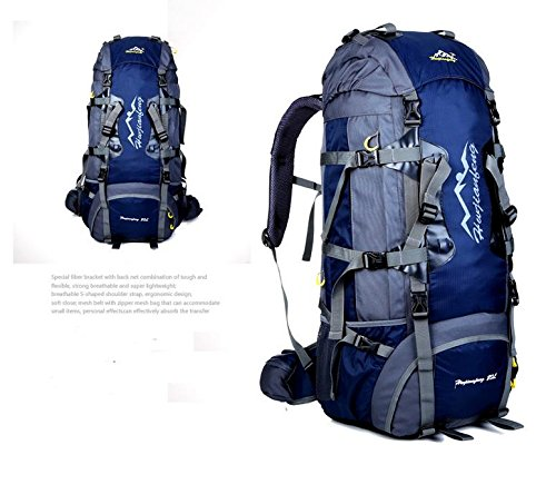 BM 80L allmountain outdoor sport zaino zaino , royal blue Dark Blue