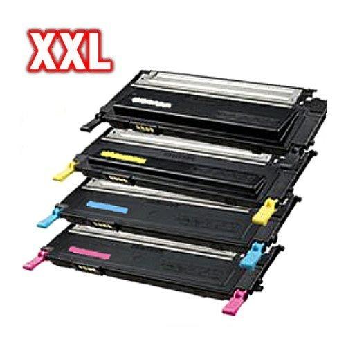 Preisvergleich Produktbild Kompatibles XXL Toner Set für Samsung, Toner Set (alle 4 Farben) CLT-K4092S, CLT-C4092S, CLT-M4092S, CLT-Y4092S