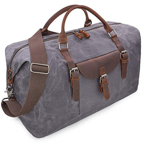 Bolsas De Viaje Cuero Hombre Bolso De Impermeable