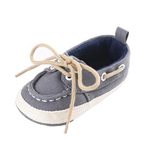 Zapatos para bebé Auxma Zapatos de Lona del bebé,Sneaker Suave recién Nacido de Las Togas Calza Las...