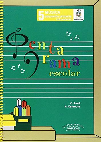Pentagrama Escolar 5 - Castellano (Libro + CD + Cuaderno de ejercicios)