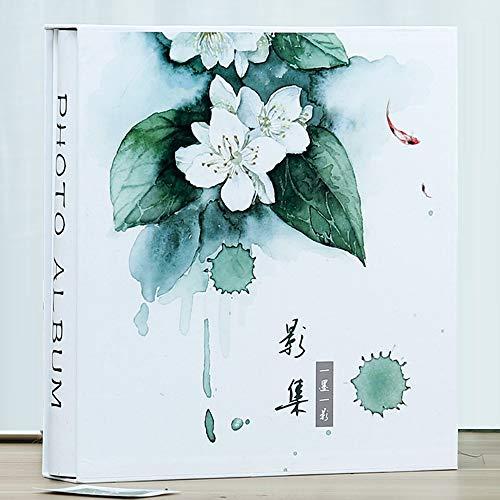 ZZHF xiangche Fotoalbum, Einfügen löschen große Kapazität Album Familie Boxed einfache praktische verdicken Album Baby Wachstum Rekord Buch 700 Blatt Album (Farbe : D, größe : 6 inches)