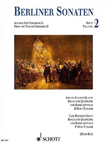 Sonaten d + F Flûte Traversiere