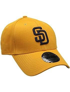 New Era MLB League Essential sadpad rgdnvy–Gorra Hombre, Naranja, FR: Talla unique (talla fabricante: OSFA)