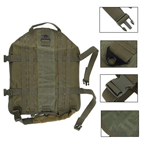 Ballylelly Tactical Outdoor Militär Hund Kleidung Vest Training Load Bearing Harness (Load Bearing Tactical)