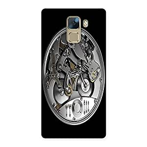 NEO WORLD Cycle Machine Back Case Cover for Huawei Honor 7