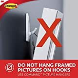 Command BATH36-SN-ES Large Double Bathroom Hook / Towel Hooks, Satin Nickel, Damage-Free