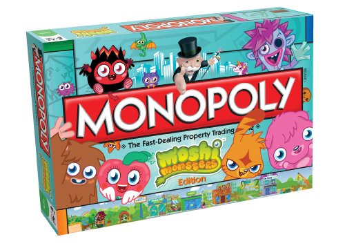 Monopoly Moshi Monsters Brettspiel
