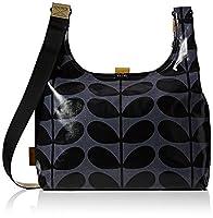 Orla Kiely Womens Midi Sling Messenger Bag Midnight