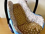 Atelier MiaMia - Kindersitz Bezug, Babysitzbezug, Babyschale Bezug Neu für Maxi Cosi City, Pepple, Cabrio Fix, Priori, Pearl, Safety One, Hauck Zero, Recaro Privia, Römer King, Baby Safe, Cybex Aton