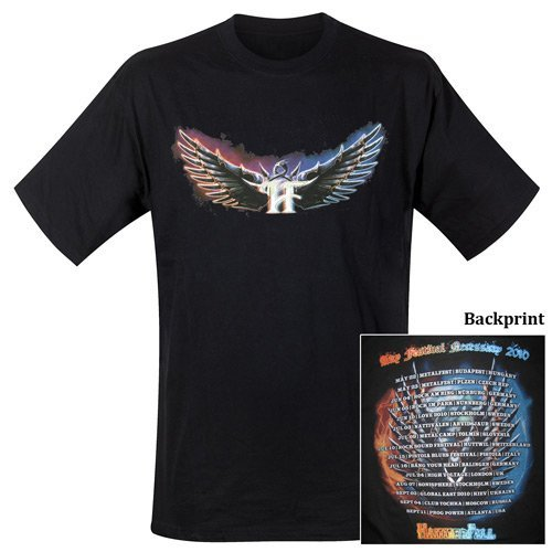T-Shirt Hammerfall Design: Any Festival Necessary 2010 by Hammerfall